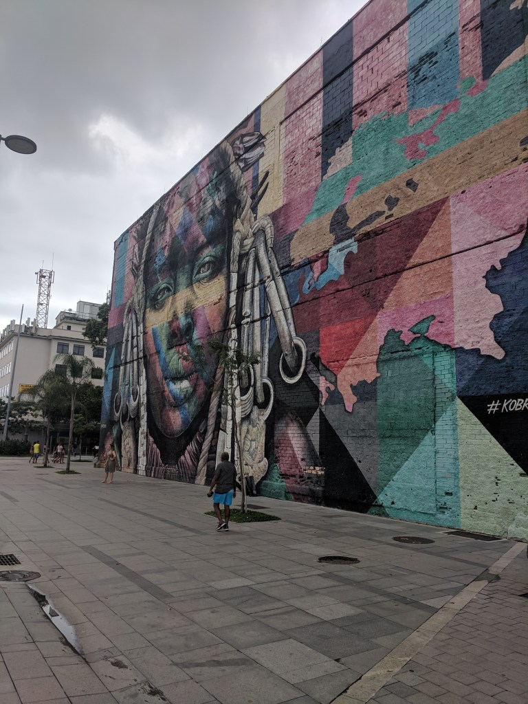 An image of street art in Rio from the Travel North East South West blog